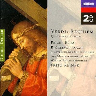 (B) **(*) Decca (ADD) 467 119-2 (2). (i) L. Price, Elias, Björling, Tozzi, V. Musikverein, VPO, Reiner; (ii) Minton, Los Angeles Master Ch., LAPO, Mehta